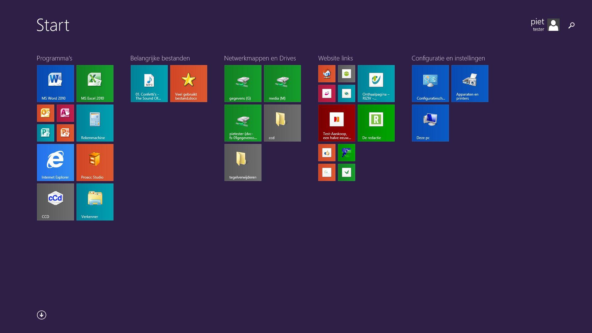 how to get start menu on windows server 2012 r2