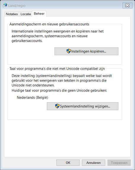 Qwerty bug bij het invoeren van wifi wachtwoord windows 10